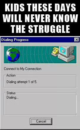 Dial Up Internet connections