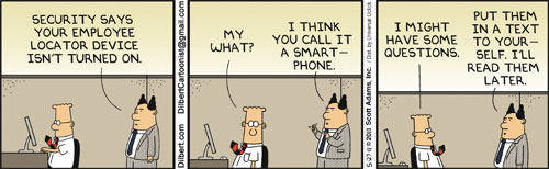 Dilbert on Security
