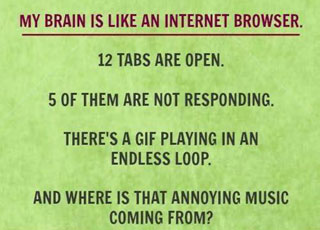 Brain is a browser..